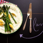 Simple Asparagus Lunch