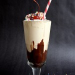 Happy Hour Hot Fudge Milkshake