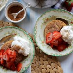 Snickerdoodle Strawberry Shortcakes