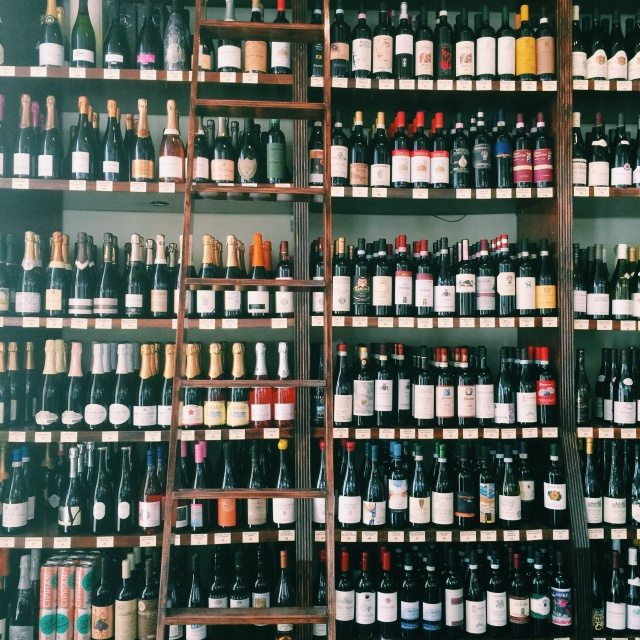 all the wines