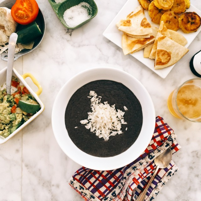 Smoky Black Bean Soup