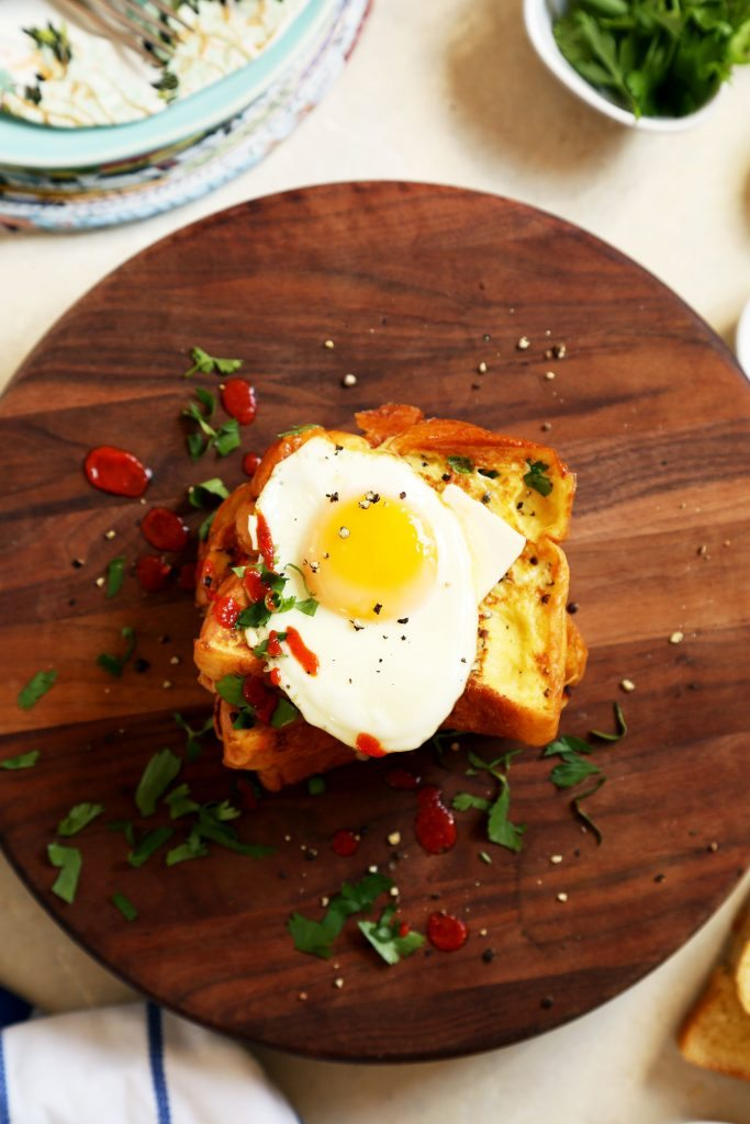 Weekend Breakfast: Savory French Toast