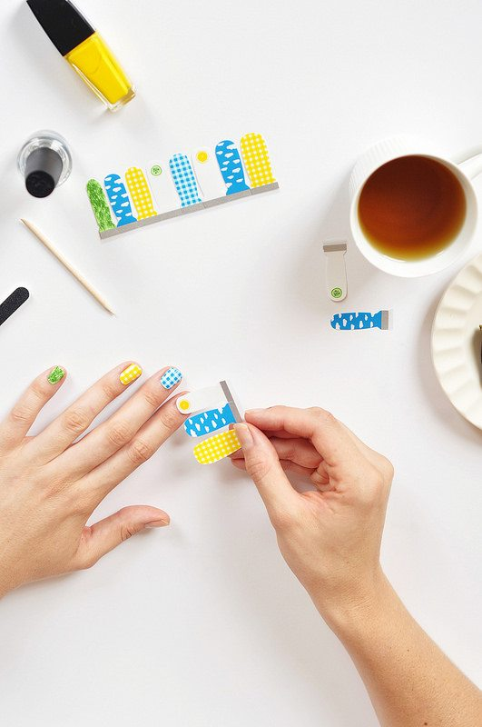 Joy the Baker + Scratch Nail Wraps