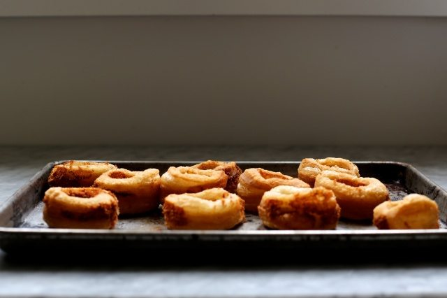 Cheddar Croissant Donuts