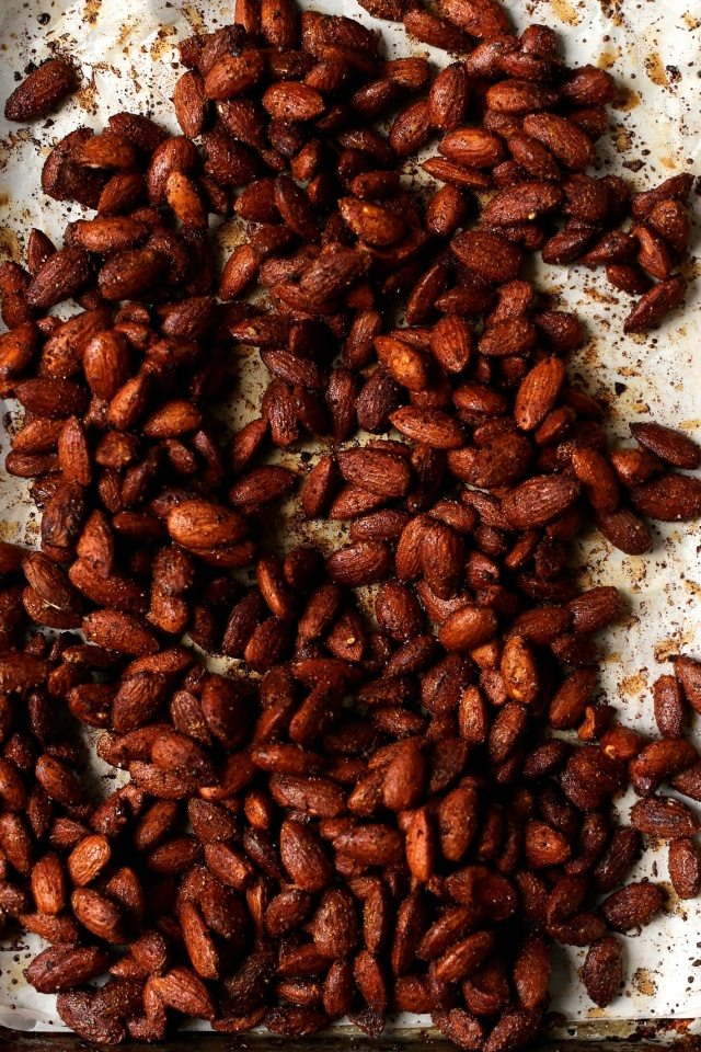 Maple Tamari Roasted Almonds