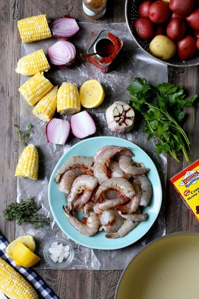 Easy New Orleans Shrimp Boil