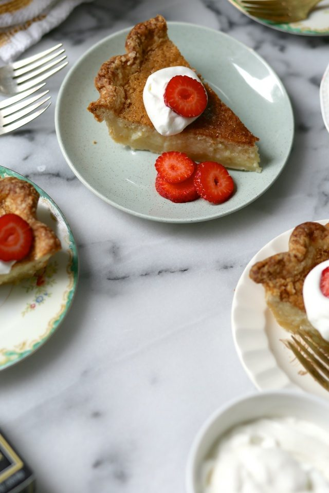 Brown Butter Chess Pie