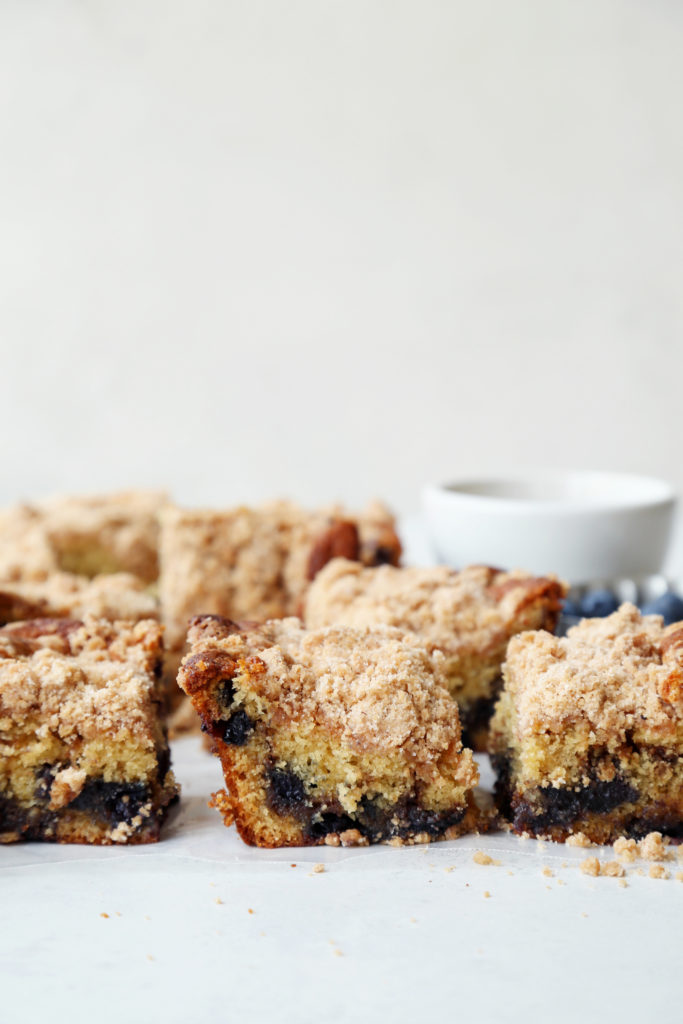 Photo of Blueberry Extra Crumb Coffee Cake